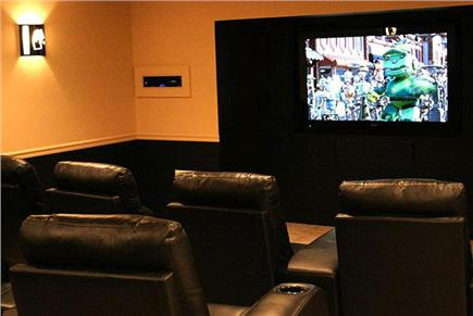 Truro Cape Cod vacation rental - State of Art Home Theater