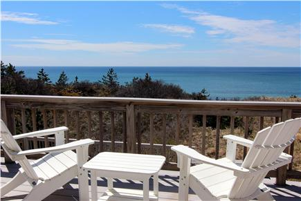 Truro Cape Cod vacation rental - View From Upper Deck