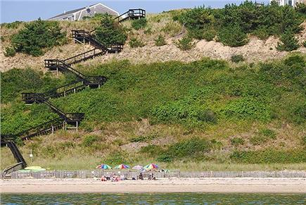 Truro Cape Cod vacation rental - Beach Stairs To Private Bay Beach
