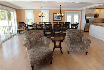 Truro Cape Cod vacation rental - Open Living Space
