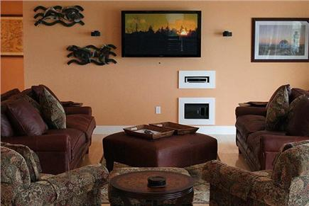 Truro Cape Cod vacation rental - Living Room Area