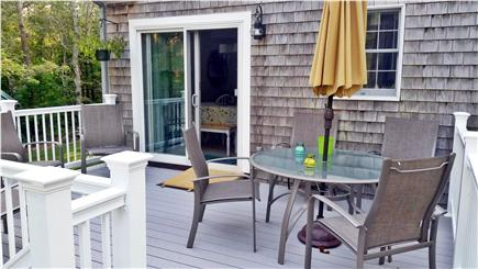 South Orleans Cape Cod vacation rental - Deck, table and chairs