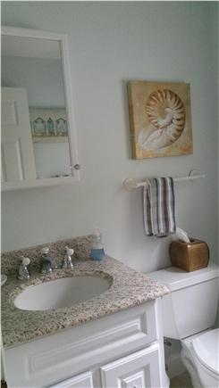 South Orleans Cape Cod vacation rental - Half bath vanity