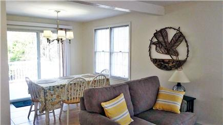 South Orleans Cape Cod vacation rental - View of dining area and deck