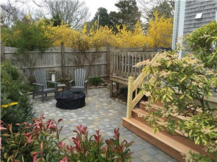 Chatham Cape Cod vacation rental - In town location w/ deck/courtyard/fire pit (wood included) views