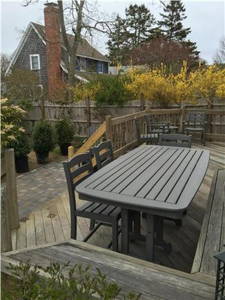 Chatham Cape Cod vacation rental - Enjoy outdoor meals w/ new patio/dining furniture (April 2016)