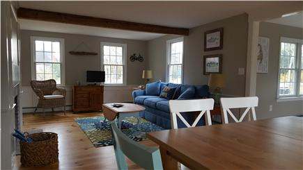 Eastham Cape Cod vacation rental - Warm spacious living area