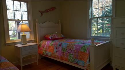 Eastham Cape Cod vacation rental - Vibrant bedroom with two twins.