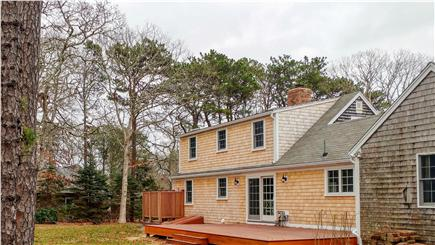 Eastham Cape Cod vacation rental - Brand new mahogany deck and shower in spacious backyard