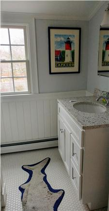 Eastham Cape Cod vacation rental - Second floor full bath with stand up shower