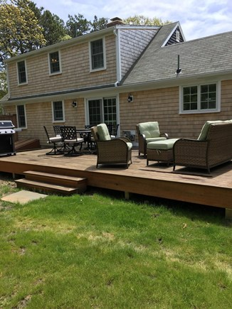 Eastham Cape Cod vacation rental - New back deck and patio