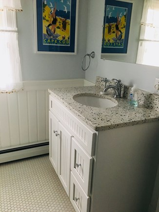 Eastham Cape Cod vacation rental - Second floor bathroom with standup shower