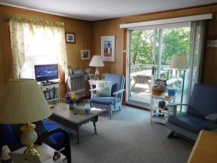Eastham Cape Cod vacation rental - From the cottage head out on to the Deck for sun and relaxation.