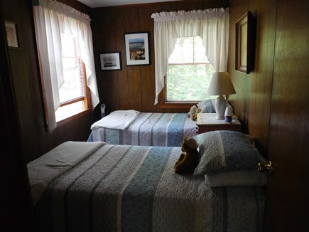 Eastham Cape Cod vacation rental - Two twin beds in second bedroom