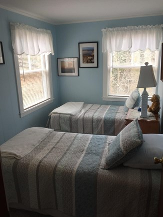 Eastham Cape Cod vacation rental - Two Twin Beds in second bedroom. Nice large windows too.