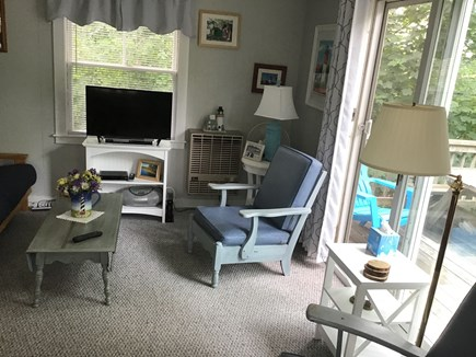 Eastham Cape Cod vacation rental - Tired?  Relax with a bit of TV and fresh air.