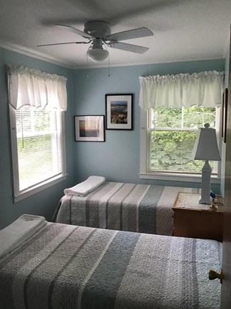 Eastham Cape Cod vacation rental - Ceiling fans in the two bedrooms cool things down at night.