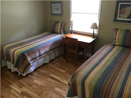 Dennis Cape Cod vacation rental - Bedroom #2 with with 2 XL twin Beds