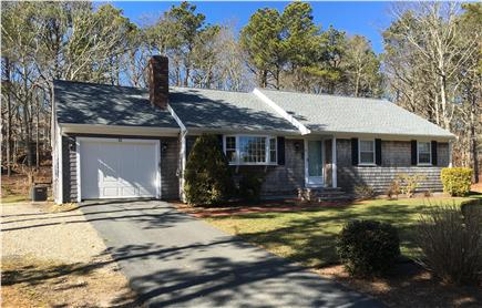 Dennis Cape Cod vacation rental - Front view of updated, modern home with central AC