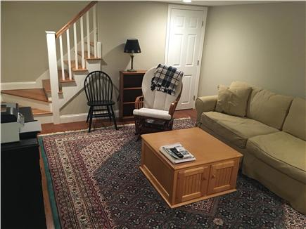 Dennis Cape Cod vacation rental - Extra Lower level Den