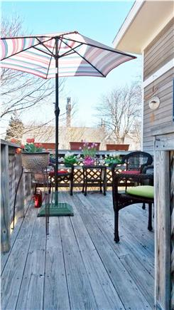 Provincetown Cape Cod vacation rental - Monument View-Front Deck-New Furniture/Grill