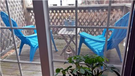 Provincetown Cape Cod vacation rental - Shaded Back Deck