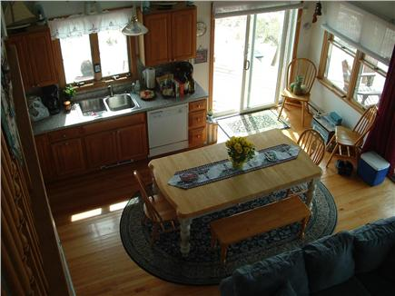 Truro, Shore Road Route 6A North Trur Cape Cod vacation rental - Kitchen from the loft