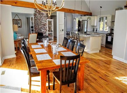 Orleans Cape Cod vacation rental - Dining area looking into sitting room