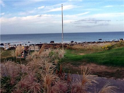 Plymouth MA vacation rental - Beautiful ocean views from the cottage
