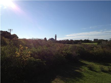 Truro Cape Cod vacation rental - Highland Lighthouse views from the property