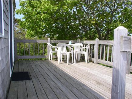 Truro Cape Cod vacation rental - Beautiful Deck
