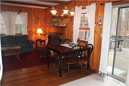 Eastham Cape Cod vacation rental - Dining area off kitchen
