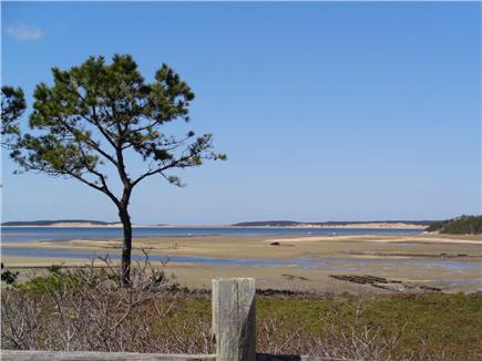 Wellfleet Cape Cod vacation rental - View at the end of Old Wharf Point
