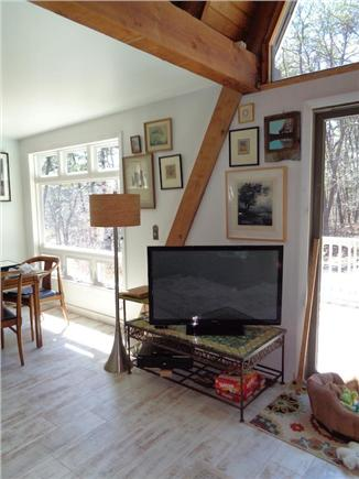 Wellfleet Cape Cod vacation rental - Living Room to Dining