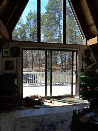 Wellfleet Cape Cod vacation rental - Patio doors to outside