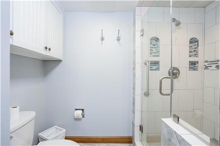 Duxbury MA vacation rental - Master Bath with shower & soaking tub