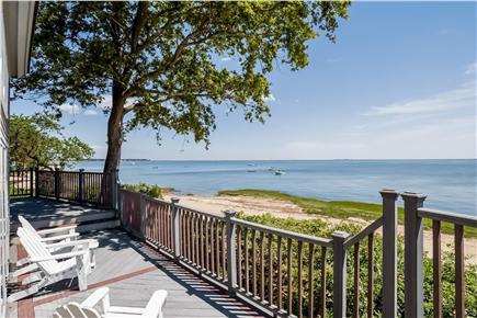 Duxbury MA vacation rental - Deck View