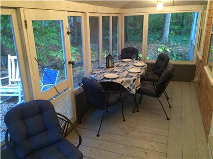 Orleans Cape Cod vacation rental - Screened--in porch