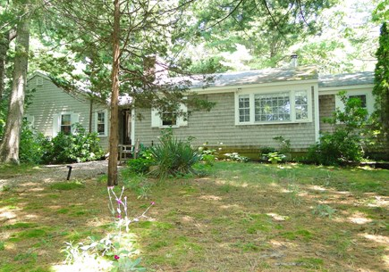 Orleans Cape Cod vacation rental - Front of house, sits back from road