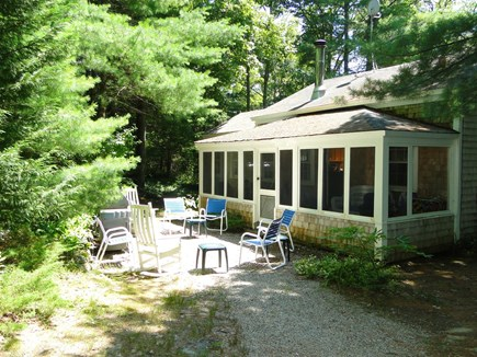 Orleans Cape Cod vacation rental - Screened Porch and Patio