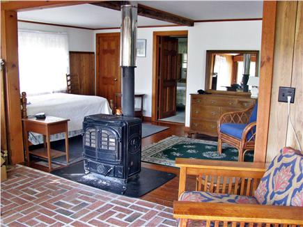 Orleans Cape Cod vacation rental - Large bedroom with 2 full beds and sunroom