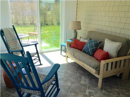 Sandwich Cape Cod vacation rental - 3 Season Porch with futon for sleeping