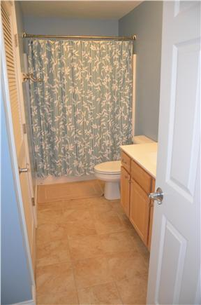 North Eastham Cape Cod vacation rental - Full bathroom on first floor with washer and dryer