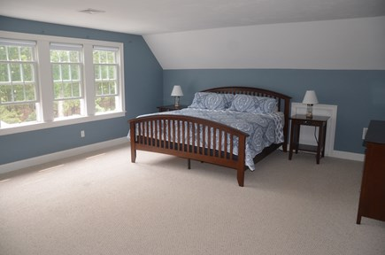 North Eastham Cape Cod vacation rental - Master bedroom on second floor with king size bed