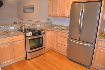 North Eastham Cape Cod vacation rental - Kitchen with stainless steel appliances and granite countertops