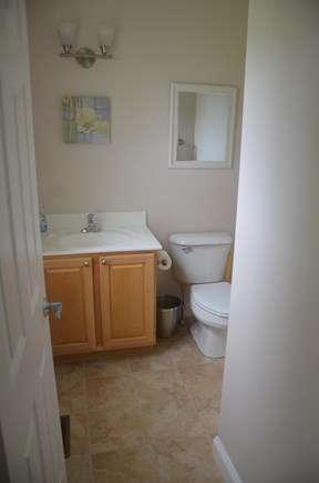 North Eastham Cape Cod vacation rental - First floor half bathroom