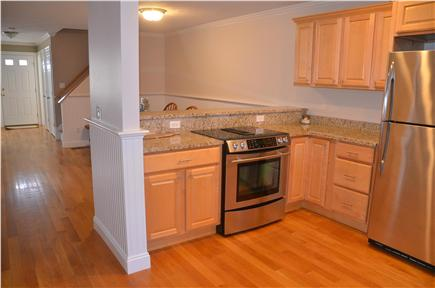North Eastham Cape Cod vacation rental - Kitchen connected to dining area