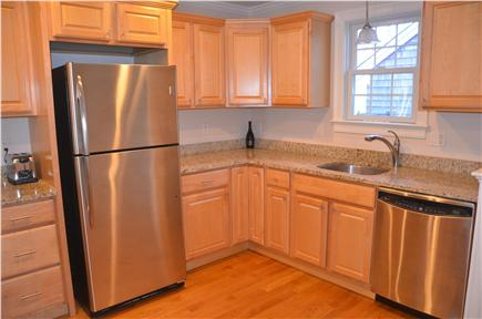 North Eastham Cape Cod vacation rental - Kitchen with granite counters and stainless appliances