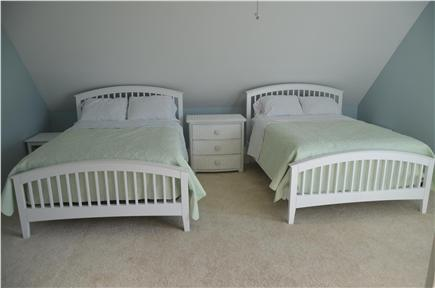 North Eastham Cape Cod vacation rental - Bedroom on second floor with two double beds