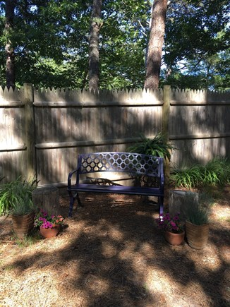 Eastham Cape Cod vacation rental - Sunset bench